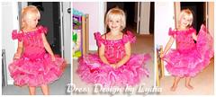 E1276_Pageant Glitz Baby doll Cupcake Girls Dress (dressdesignbylydia.com) Tags: uk pink roses white infant soft dress ivory skirt cotton christening bodice gowns cheap tulle removedfromstrobistpool nooffcameraflash seerule1