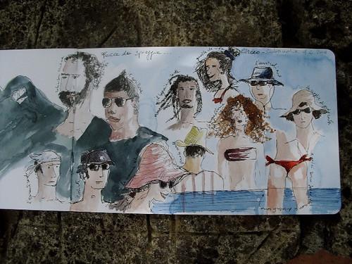 Facce da spiaggia... by elisabetta mitrovic