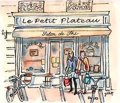 Le Petit Plateau (Paris Breakfast) Tags: facade parisbreakfasts