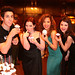 David Henrie, Jennifer Stone, Maria Canals Barrera and Selena Go