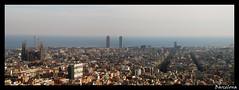 BCN area view (LTCE) Tags: barcelona street landscape calle spain downtown bcn barcellona spagna profondita