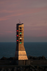 Trafic Lights (Attila Pasek) Tags: travel sea lights trafic