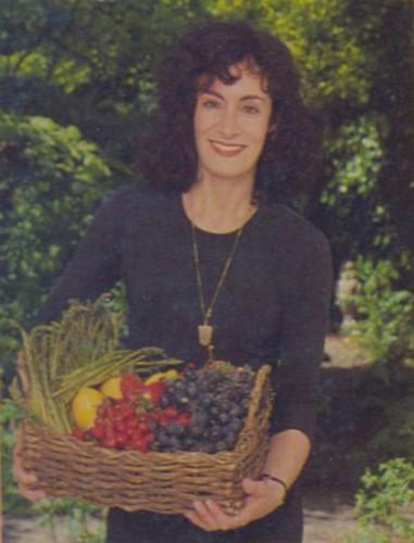 Ursula Ferrigno author of many vegetarian cook books