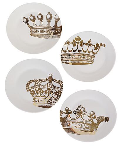 kings road dessert plates plasticland