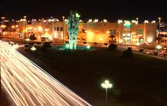 Tabuk city at night 2 (Abdullah_alrbdi) Tags: heritage night shadows saudi arabia director tabuk