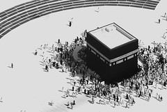 holy kaaba -   (Hatem Haneef) Tags: muslim mosque holy haram makkah ksa  kaaba digitalcameraclub