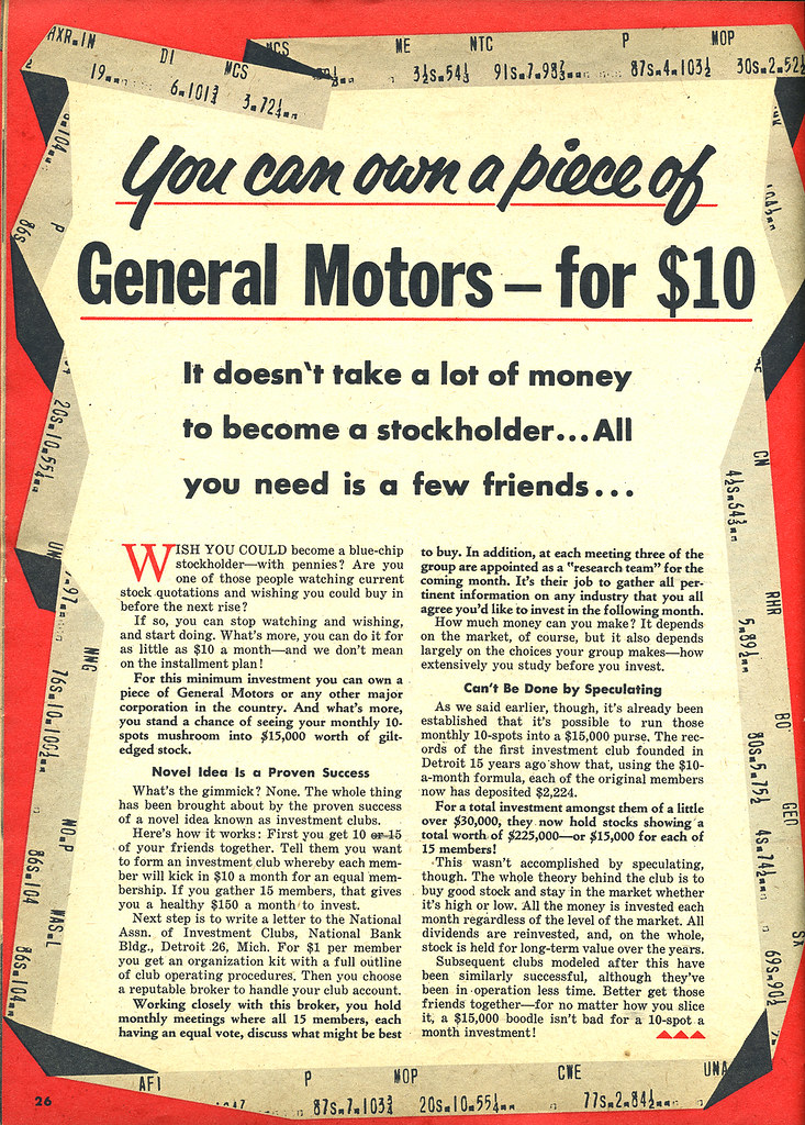 You Can Own A Piece of General Motors