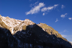 Luce/ombra (Sisto Nikon - CLICKALPS PHOTOGRAPHER) Tags: panorama montagne nikon natura neve monte paesaggi montagna paesaggio monti gmt ghiaccio febbraio panorami sisto alpigraie naturalistica valsoana parconazionaledelgranparadiso sisti pngp vallesoana pianprato forzo