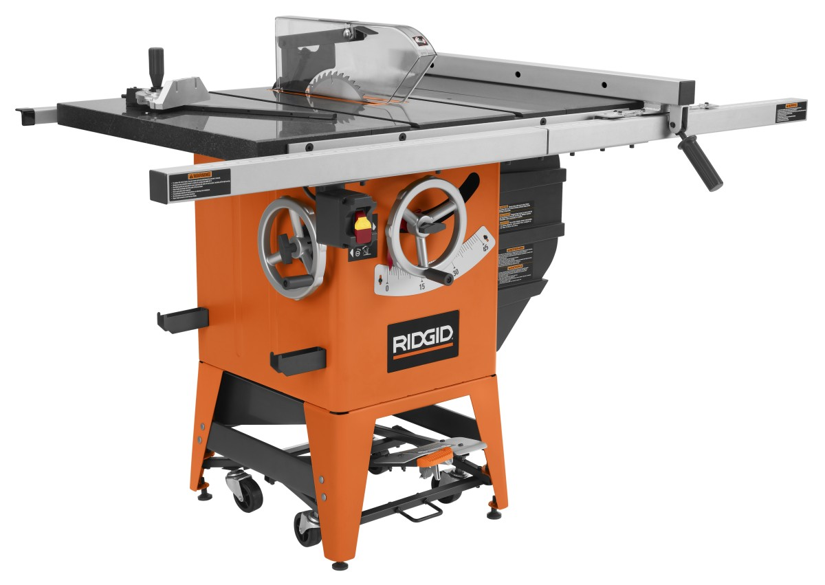 New Ridgid Tablesaw gives me a case of Tool Envy DFWstangs Forums