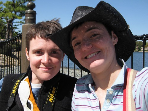 us in Epcot 2009