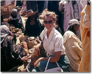 Sammy among the Guajira Indians, Venezuela, 1957