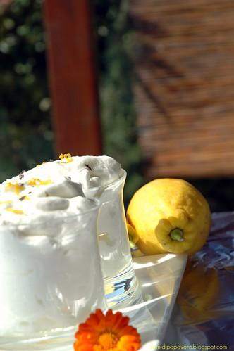 Mousse al Limone e Fleur de Sel alla Vaniglia