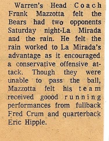 football article