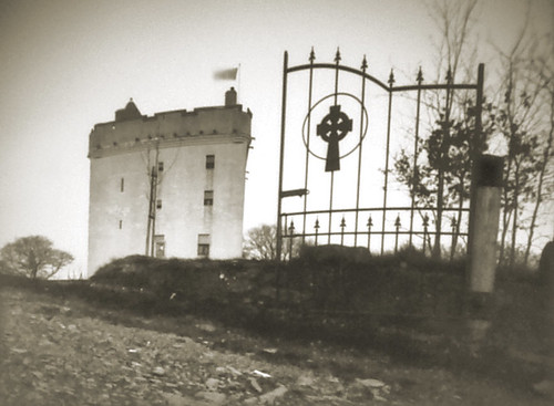 Law castle pinhole image