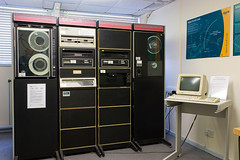 Bletchley Park - DEC PDP 11/34 (stevebell) Tags: museum buckinghamshire bucks bletchleypark bletchley londonflickrmeetup nationalmuseumofcomputing stevebell tnmoc bletchleyparktrust wwiicodebreakers upcoming:event=1835020 digitalpdp11 decpdp1134
