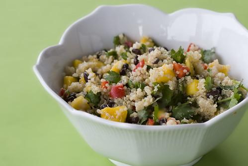 Quinoa Salad With Black Beans & Mango | Isa Chandra Moskowitz