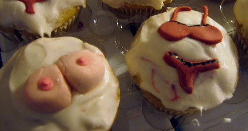bachelorette party, naughty cupcakes