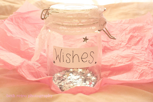 everyone needs a wish jar / beth retro