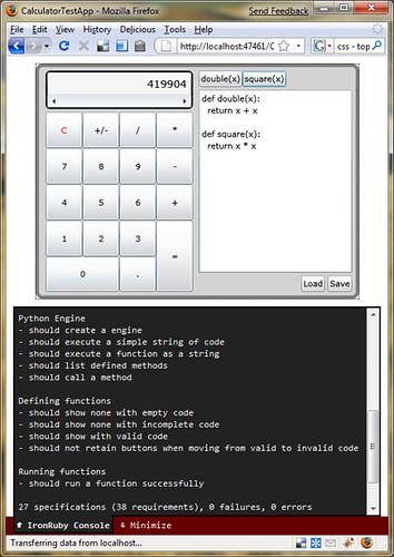 Scripting Silverlight applications