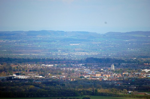 Wrexham, and a distant Carden Park