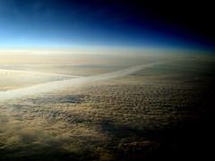 That's how the earth looks like from 39'000 ft (LTCE) Tags: sky cloud sun sol nature clouds landscape fly europe aviation air flight aerialview natura cielo sole pilot aviazione aerials vistaaerea aviacion pilota volare volar contrasto distanza profondita pilotare