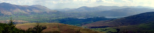 View from top of Whinlatter South Loop