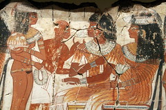 Ancient Egyptian Feast. ( Libyan Soup) Tags: girls woman feast painting women egypt egyptian egipto britishmuseum seated fresco gypten egitto egypte egypten ancientegypt wallpaintings entertained egiptus egipt egyptianart gypte nebamun egypti  tombart tombpainting egyptianpainting egiptio egiptujo michaelcohengallery nebamunwallpaintings tombchapel tombchapelofnebamun