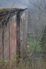 Viaduct Conques over the river Semois (Terme, Belgium) Photo
