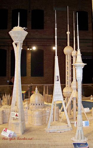 Towers in toothpicks