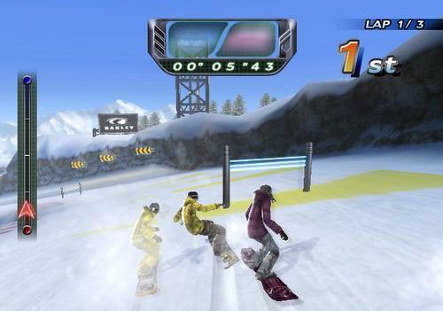 Snowboard Riot review screenshots