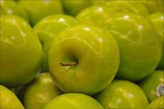 Don't Upset the Apple Cart (floralgal) Tags: stilllife food green fruit shopping stem market apples produce citrus nutrition foodstore applestem greenapples foodshopping foodemporium