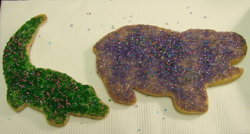 Alligator and Hippo Cookies