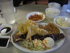 korean combo plate