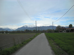 Quiet roads to the mountains (Pinerolo, Piemonte, Italy) Photo