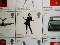 Royal Mail British design classics stamps (Scorpions and Centaurs) Tags: england classic 60s mail stamps retro clothes letter british postal royalmail collectible miniskirt postage 1stclass collector postalservice philately maryquant specialedition fashiondesigner specialissue britishdesignclassics