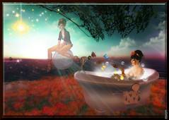 Fading fantasies.... ( MARJORIE  Kappler) Tags: sl secondlife marjoriekappler musicsbest aerobreeze fadingfantasies