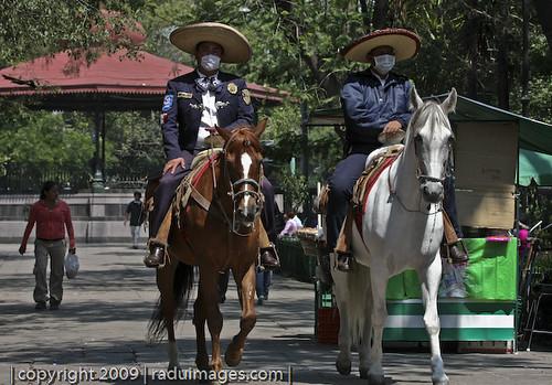 #swineflu: Fotos de México con Cubre Bocas