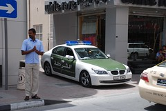 Dubai Police BMW 5 Series - Dubai, United Arab...