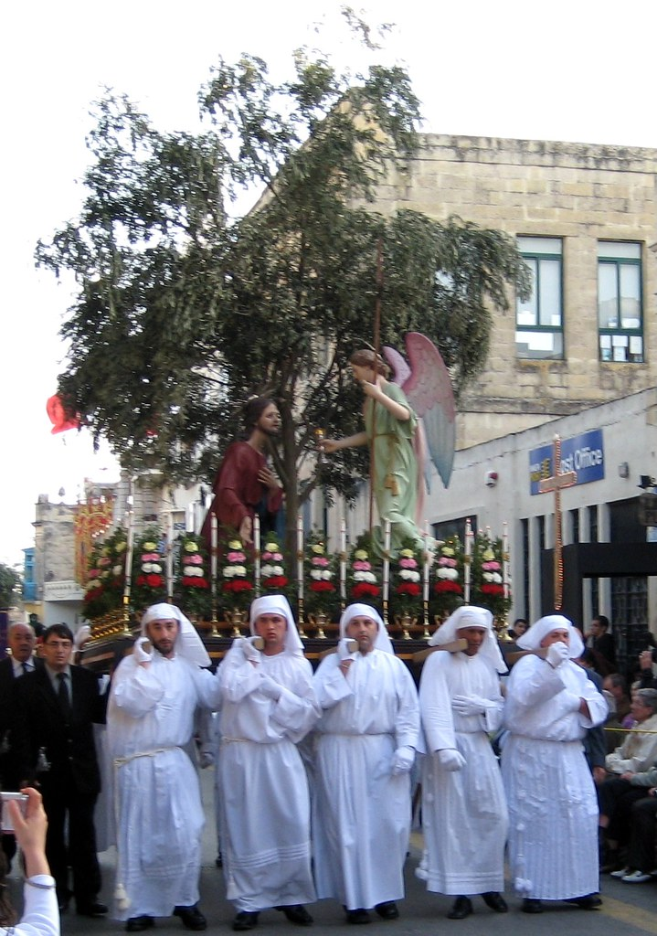 The biggest statue of this procession