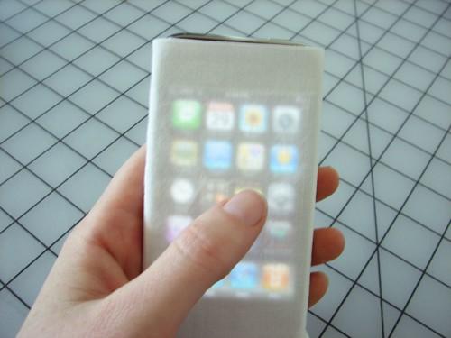 no-sew iPhone cozy14