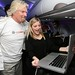 Sir Richard Branson and iJustine