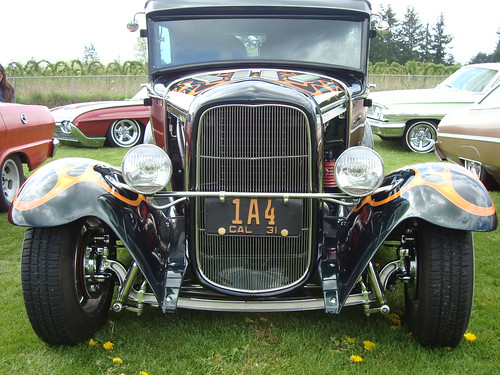 1931 Ford Model A Hot Rod. Grill