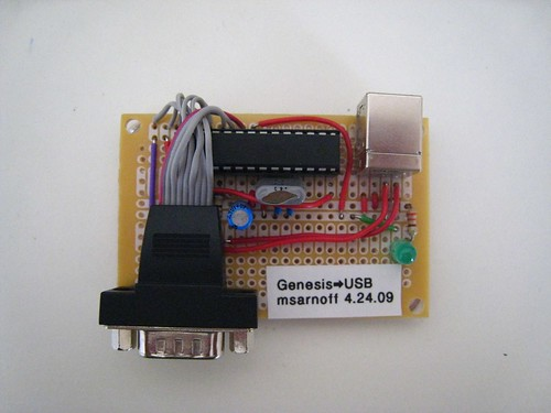 3505176633_c1e4898826 msarnoff org usb adapter for sega genesis controller sega genesis controller wire diagram at gsmportal.co