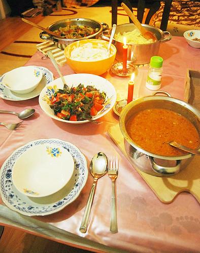 freegan dinner istanbul