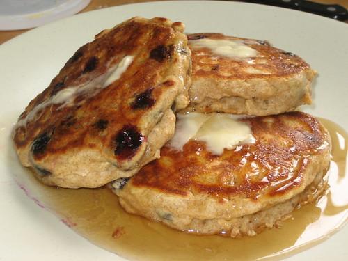 Oatmeal Pancakes Part Deux
