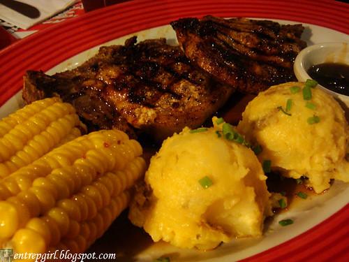 TGIF Jack Daniel's pork chops