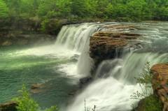 Little River Falls (the waterfallhunter) Tags: longexposure alabama littlerivercanyon hdr dekalbcounty fortpaynealabama littleriverfalls