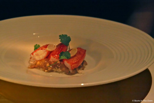 Lobster Curry with Green Almonds