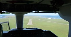Lining - Up For A Papa Westray Landing (orquil) Tags: scotland orkney may aerial loganair guinnessbookofrecords papawestray orcades fz28 aerialexcursion shortestscheduledflight