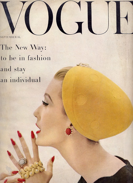 ADORED VINTAGE: Vintage Vogue 1955 | Mary Jane Russell ...